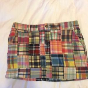 Old Navy plaid skirt size 8